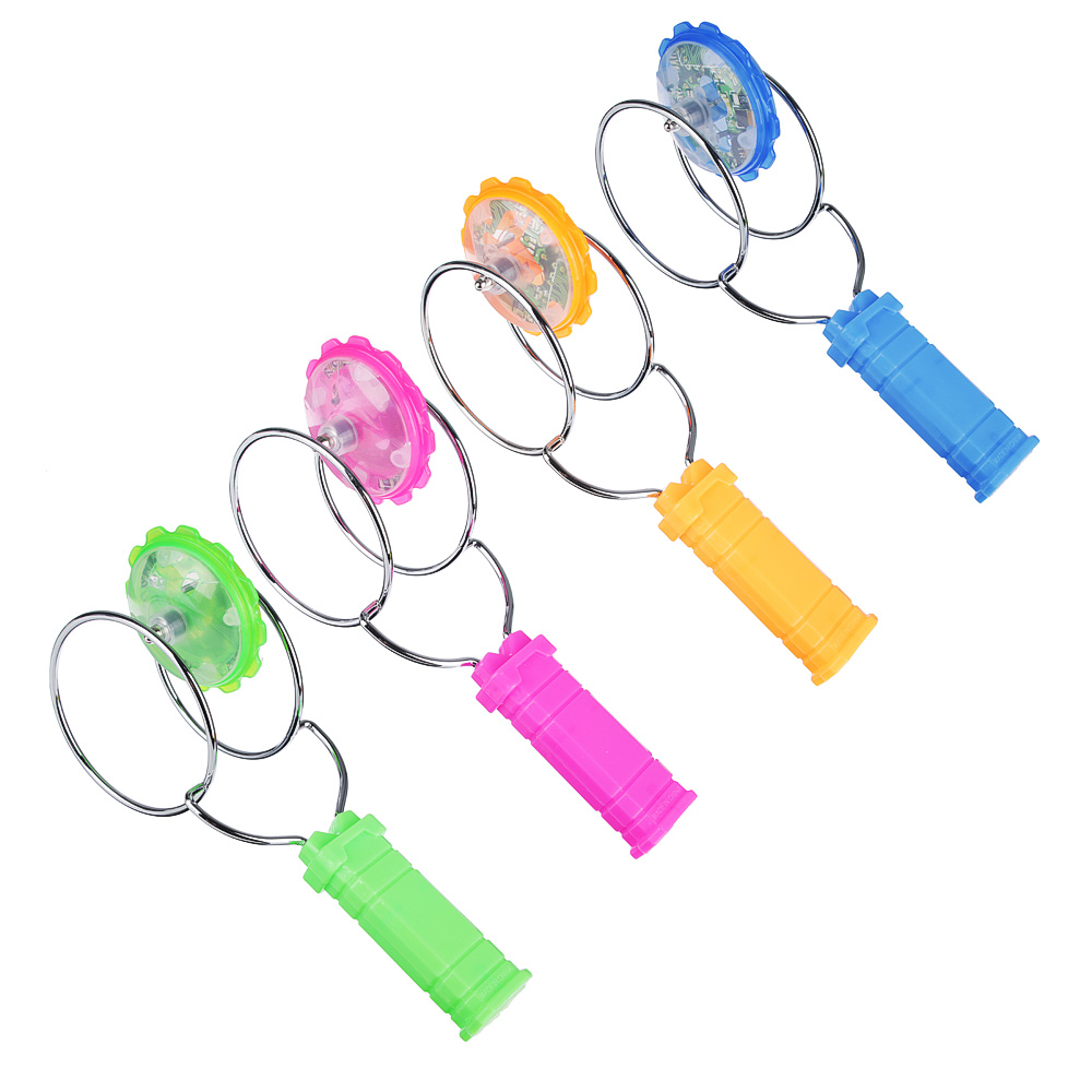 ИГРОЛЕНД Игрушка магнитная юла, магнит, металл, пластик, 25х10х8,5см, 2-4 цвета