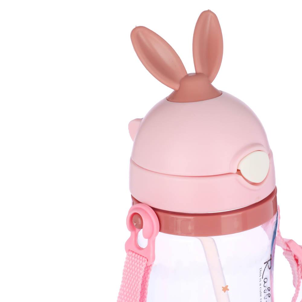 Бутылочка детская 420 мл, пластик, 3 дизайна