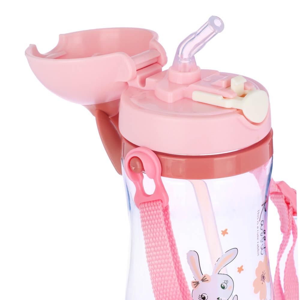 Бутылочка детская, 420 мл, пластик, 3 дизайна