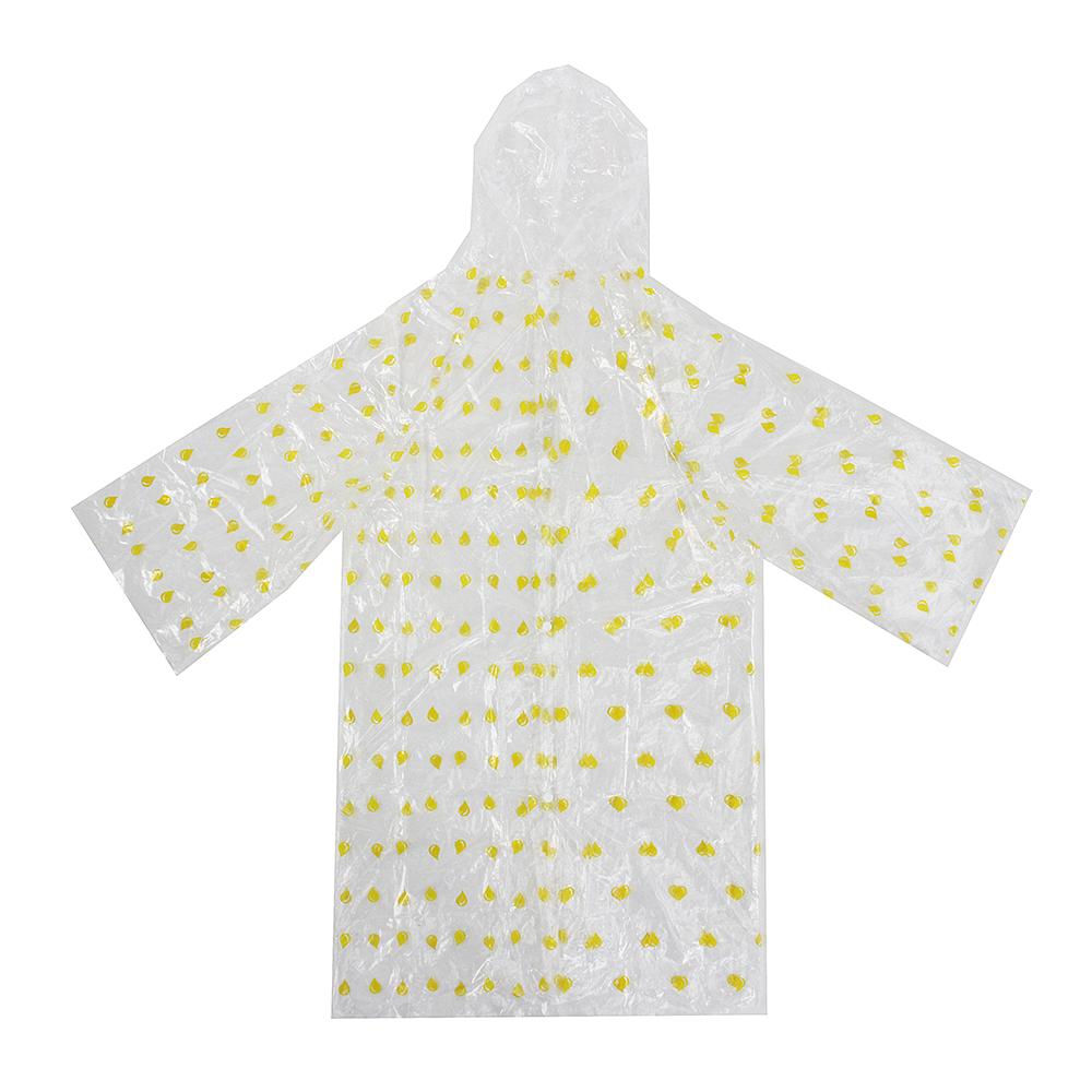 Детский дождевик, ПЭ, 25 мкм, 50х90 см, INBLOOM