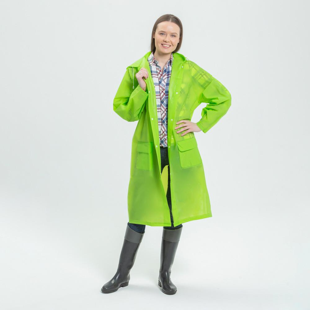 Дождевик, EVA, 64х110 см, 5 цветов, INBLOOM