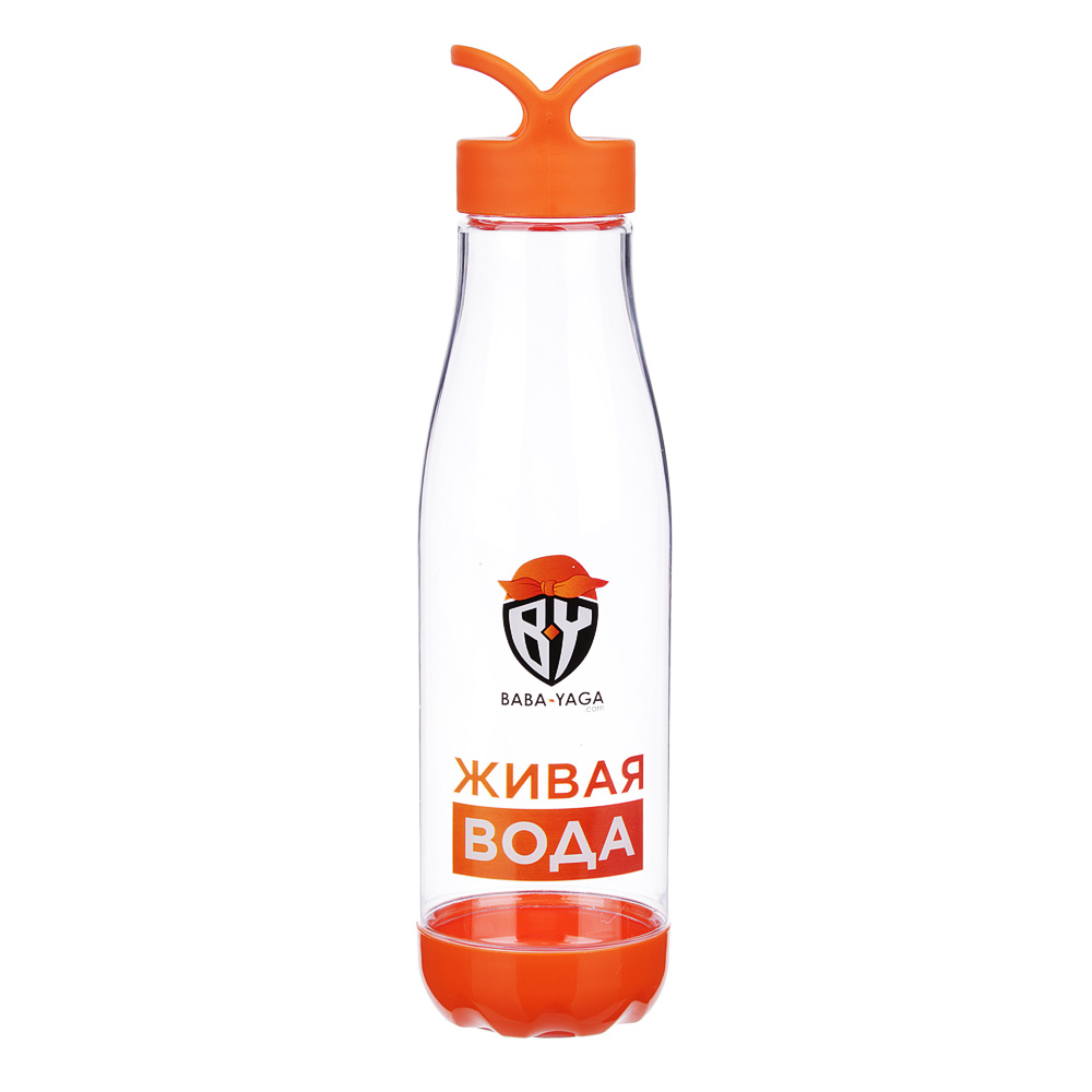Бутылка для воды, 0,66 л, 26х6.5 см, PC и PP, BY