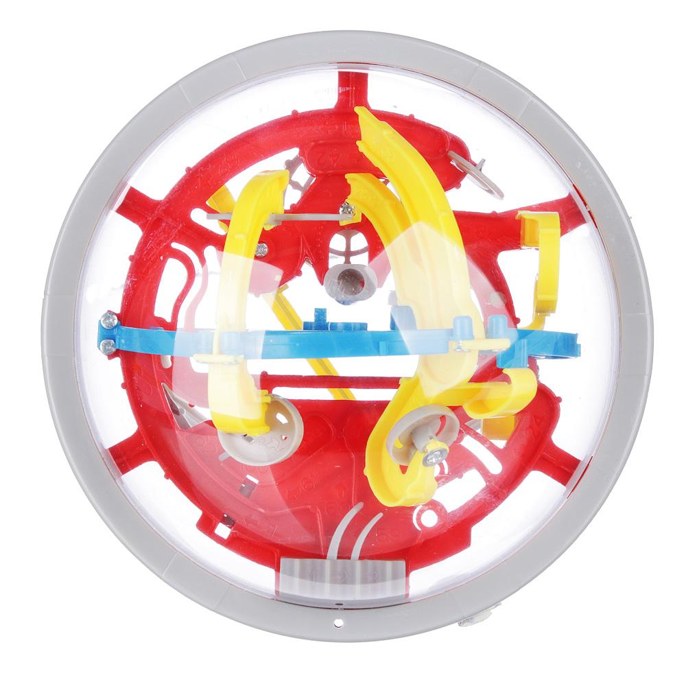 Игрушка шар-головоломка, пластик, 12х12х12см