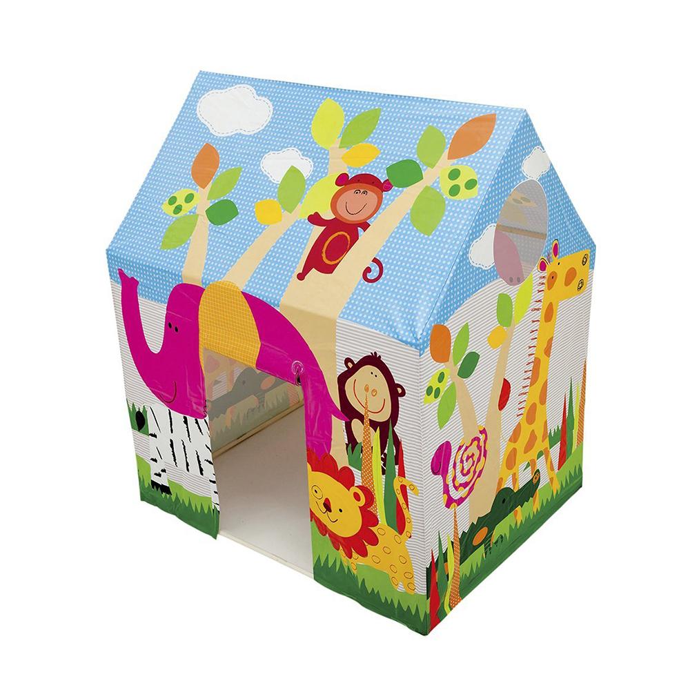 Детский игровой домик-палатка INTEX 45642, 95х75х107 см, от 3 до 6 лет