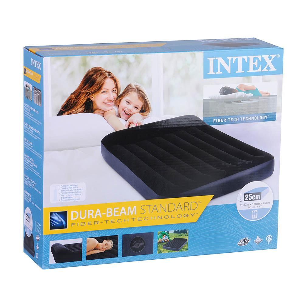 Матрас надувной INTEX 1,37x1,9x0,25м, 64142