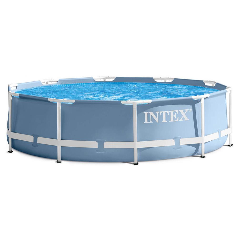 Бассейн каркасный призматический, фильтр-насос, возраст от 6 лет, 366х76 см, INTEX, 26712