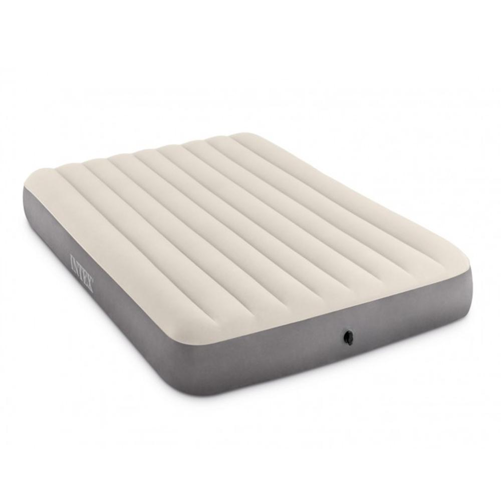 """Кровать надувная, 152х203х25 см, INTEX """"Делюкс квин"""", 64709"""
