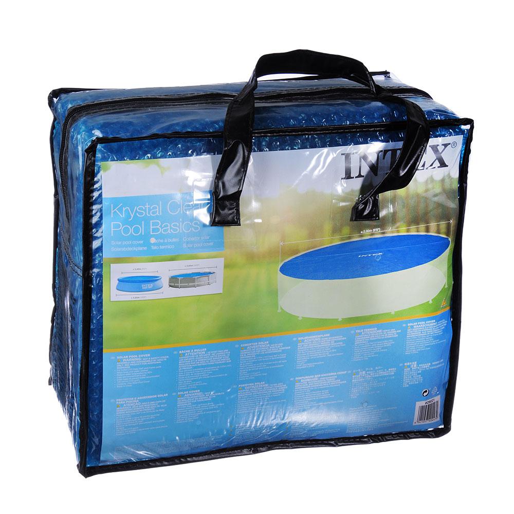 Чехол для бассейнов 305 см, d2,9м, INTEX Solar, 29021
