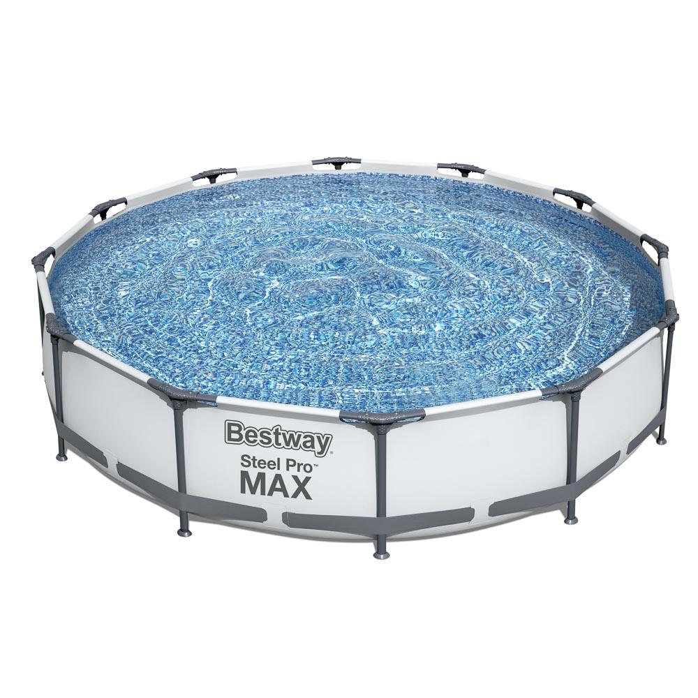BESTWAY Бассейн каркасный (фильтр-насос) Steel Pro мax, 366х76 см, 6473 л, 56416
