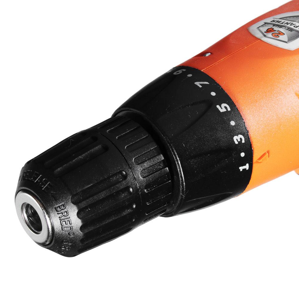 ЕРМАК Дрель-шуруповерт электр. ДШЭ-300, 300 Вт, 0-800 об/мин, 12,5 Нм, 10мм ПРОМО (646-181)