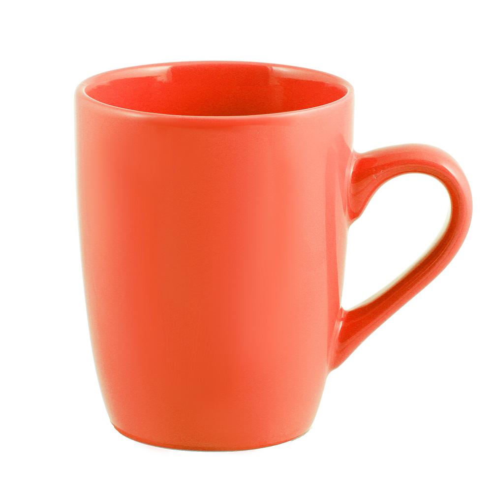 """Кружка 350 мл, керамика, оранжевая, """"Глянец"""""""