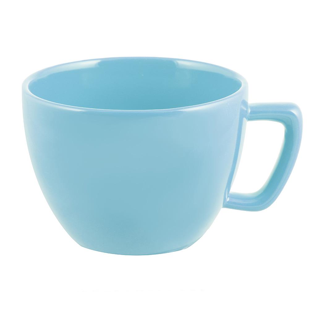 Глянец Бульонница, 500мл, керамика, синий