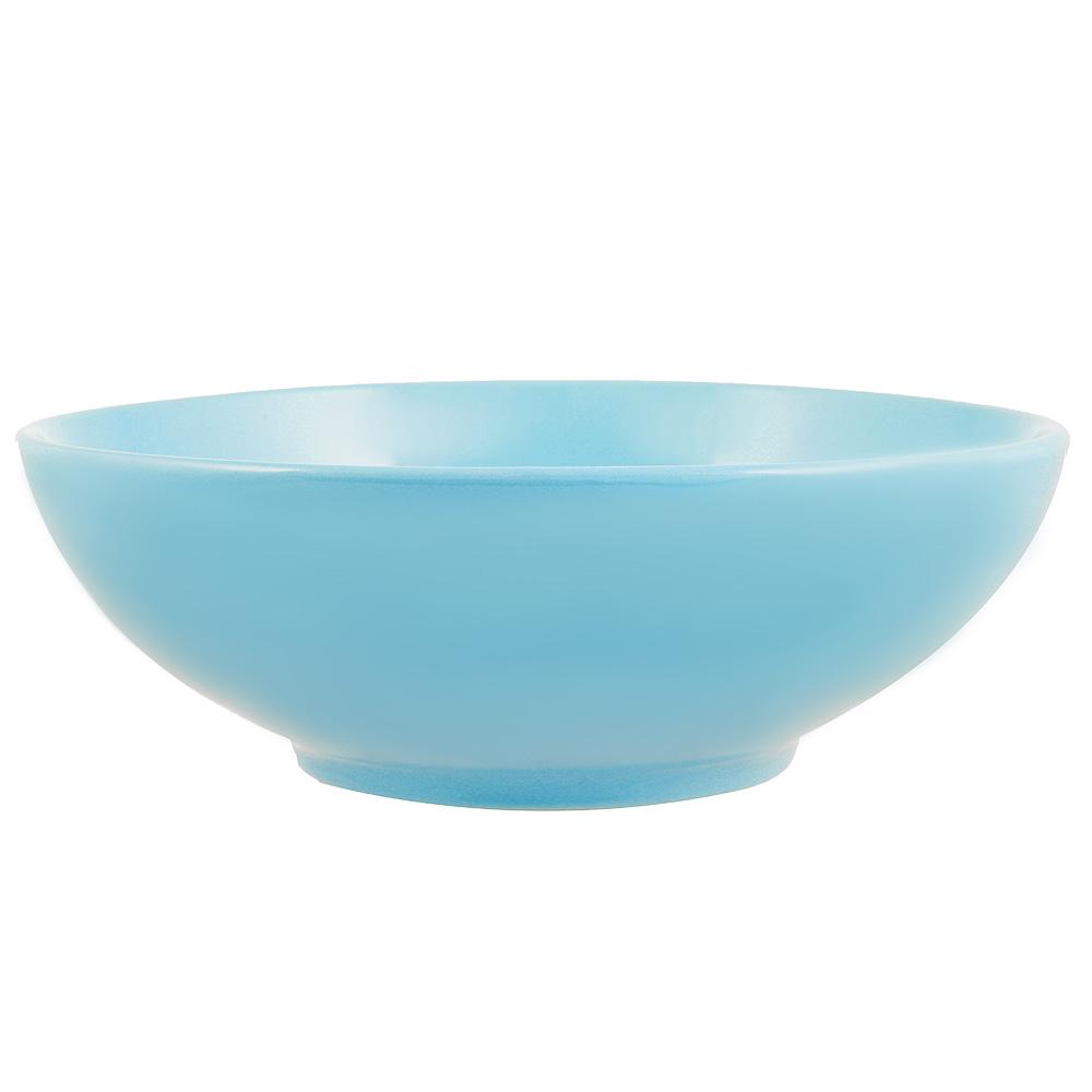 Глянец Салатник, 17,5см, 700мл, керамика, синий