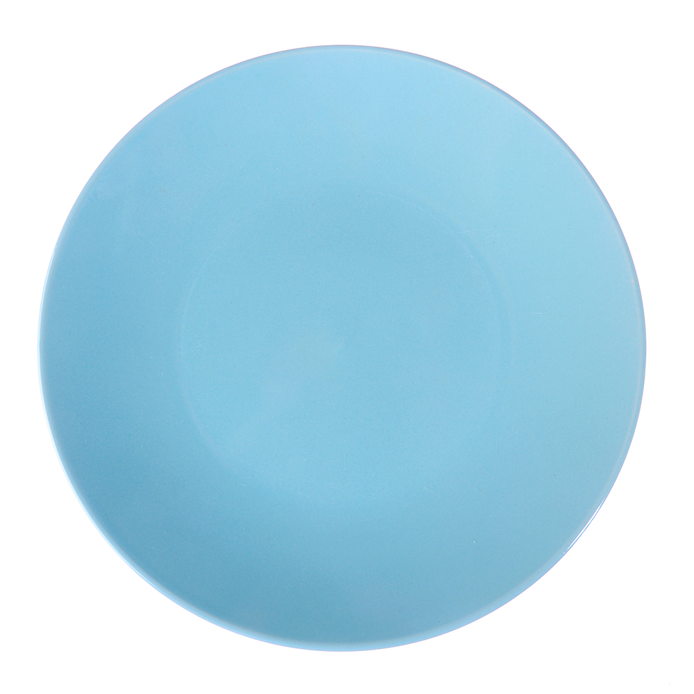 Глянец Тарелка десертная, 20см, керамика, синий