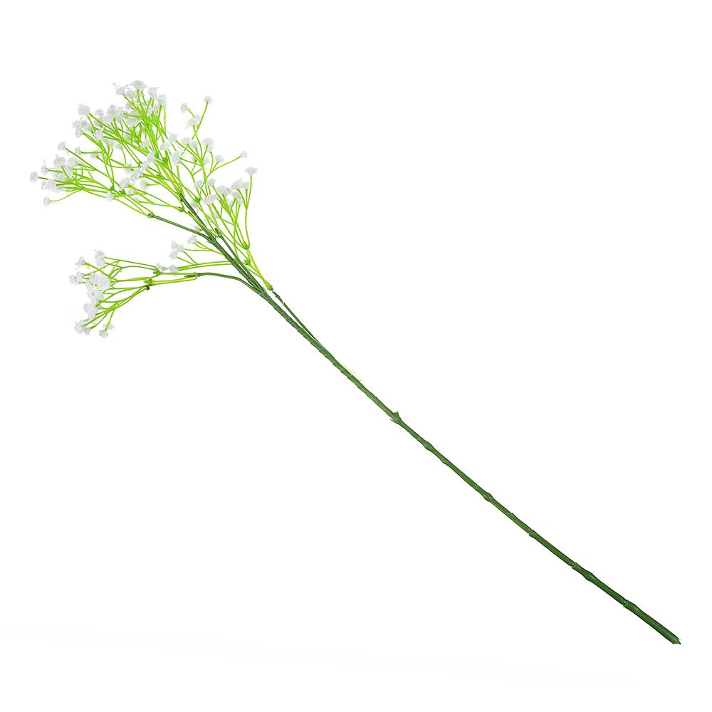 Цветок искусственный в виде гипсофила, пластик, полиэстер, 54 см