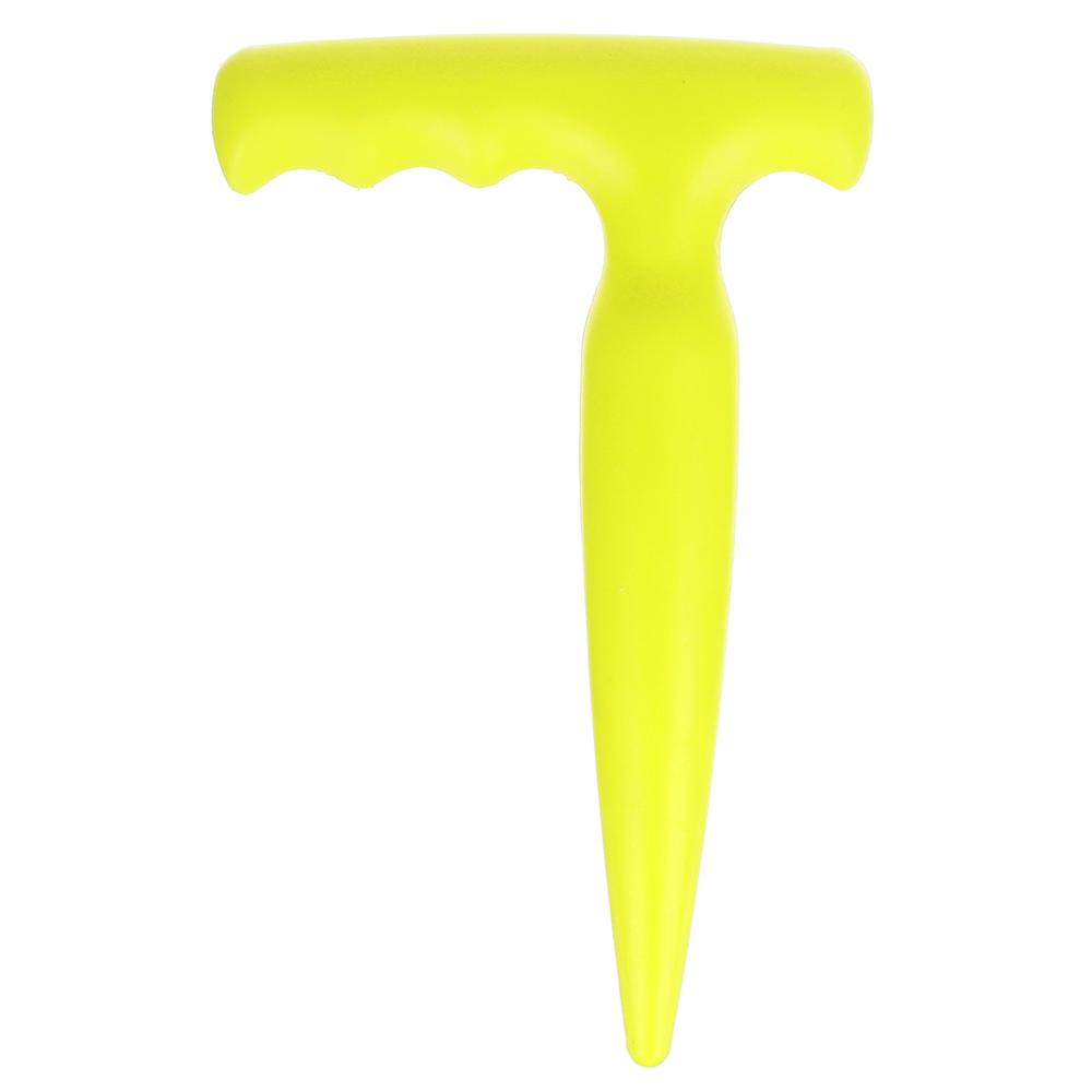 INBLOOM Инструмент садовый для пробития лунок, с мерной шкалой, 18х11см, ПП