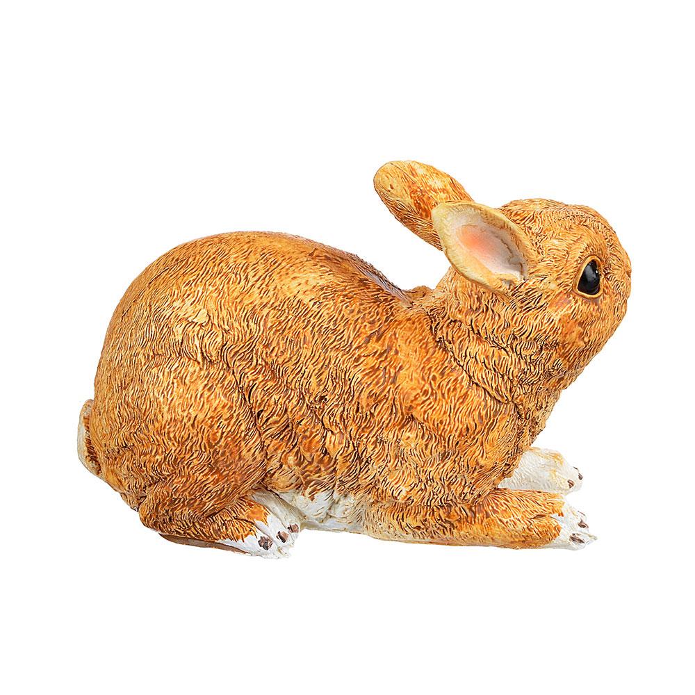 "INBLOOM Фигурка садовая ""Кролик Бельгийский "" 21,5х15х11,5 см, полирезин"