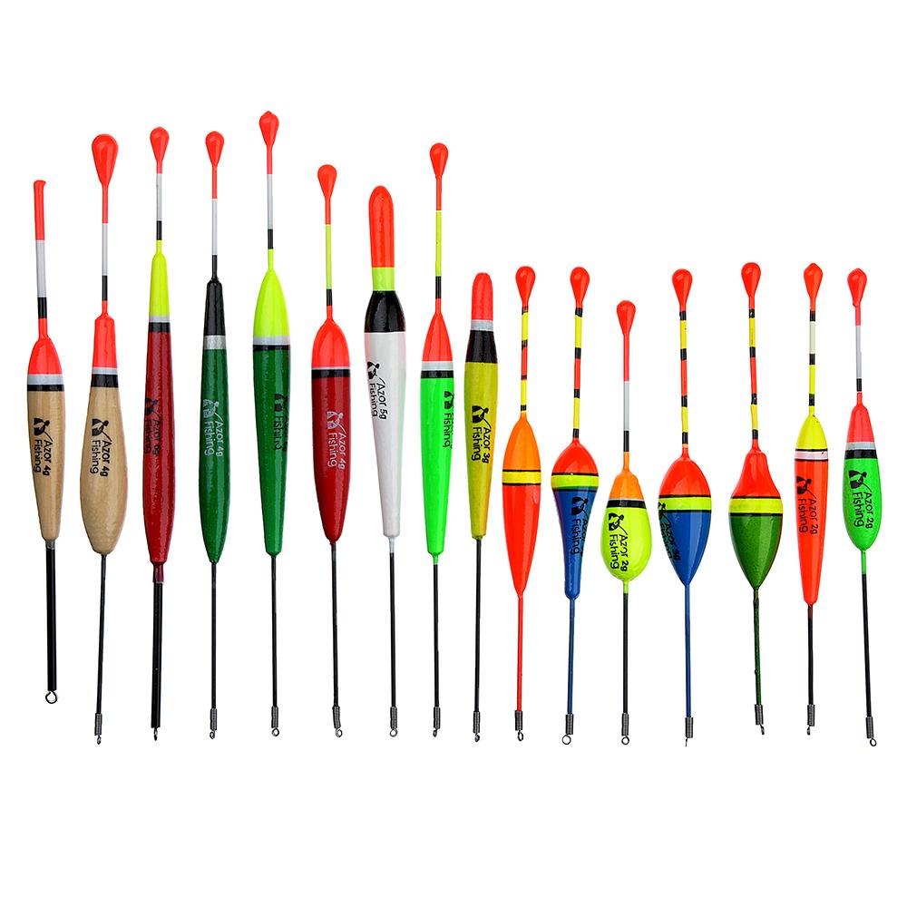 AZOR FISHING Поплавок, пластик, 4 вида : 2гр, 3гр, 4гр, 5гр