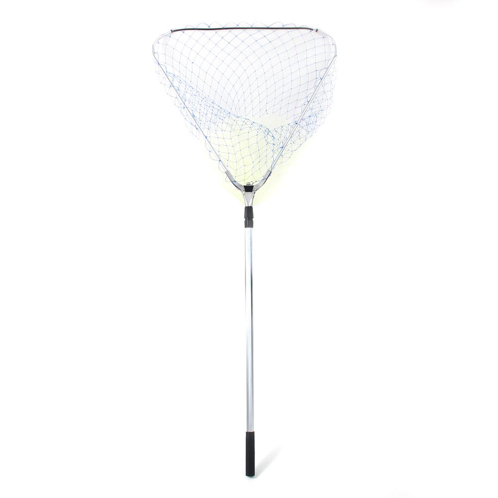 AZOR FISHING Сачок большой складной, треугольный, 70 см , длина 1,5 м