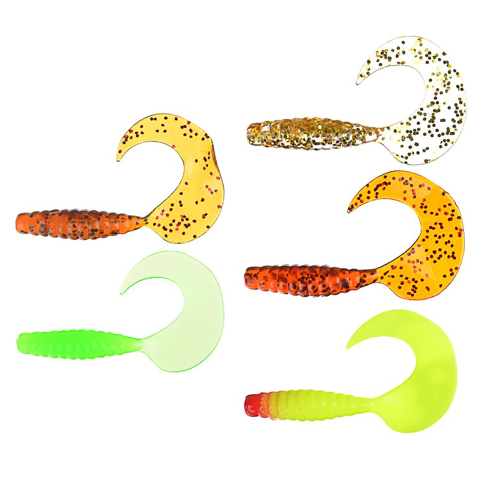 AZOR FISHING Приманка мягкая K.Good , силикон, 7см, 8шт. в уп, 3 цвета
