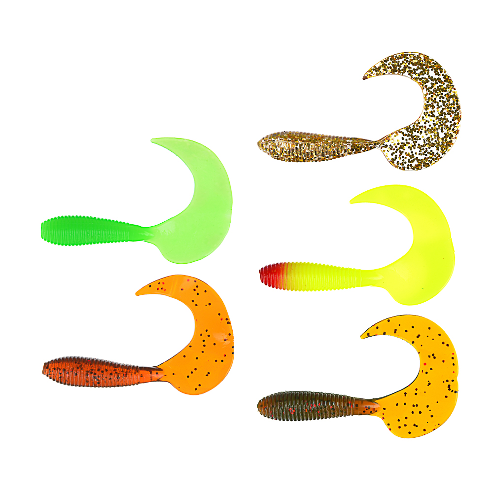 Приманка мягкая Shad, силикон, 9см, 8шт., 3 цвета