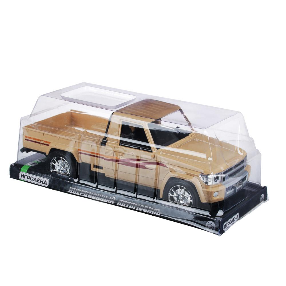ИГРОЛЕНД Машинка инерционная,1:12, пластик, 34х12,5x12см
