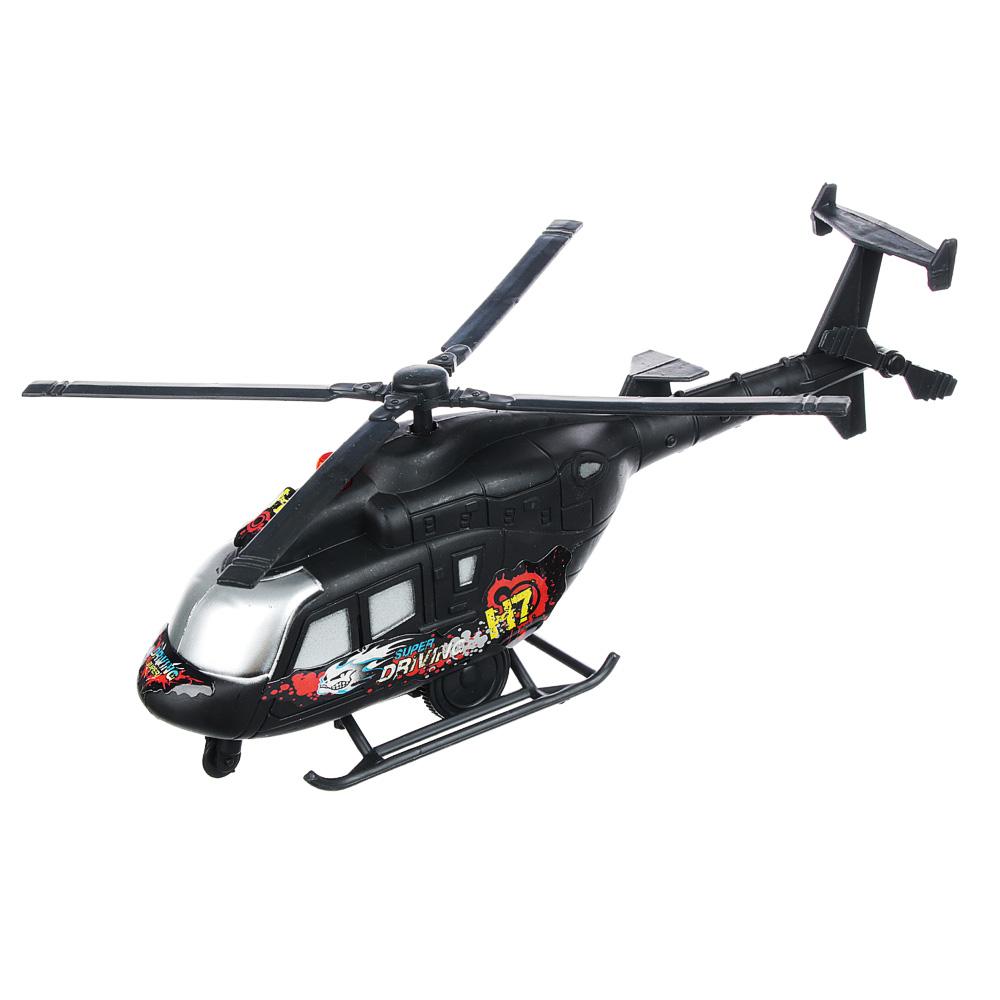 ИГРОЛЕНД Вертолет со световыми и звуковыми эффектами, пластик,26х9,5х6,5 см ,H161A
