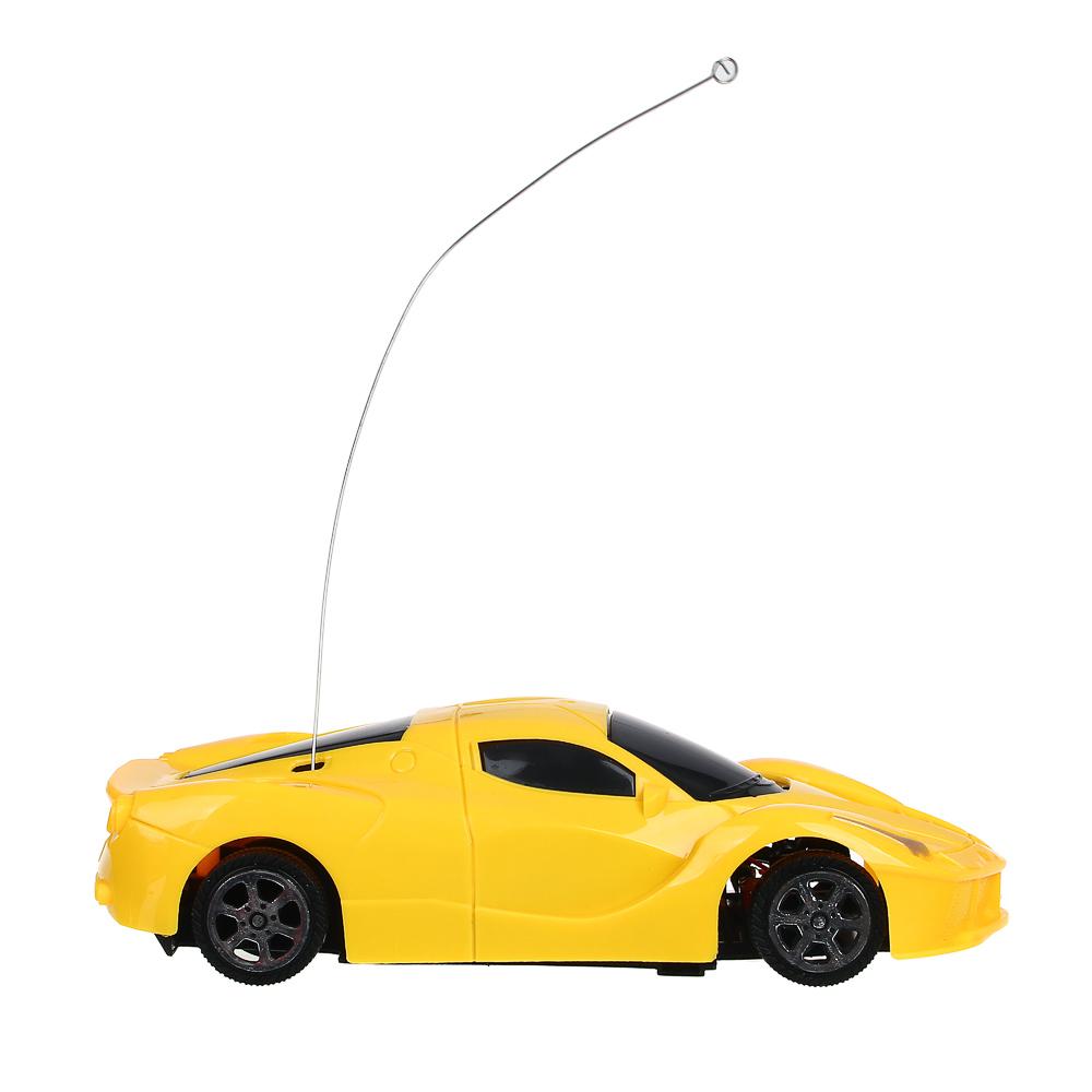 ИГРОЛЕНД машинка на радиоуправлении, 1:24, 1-канальный пульт, 14х8х3,5см, 2 цвета