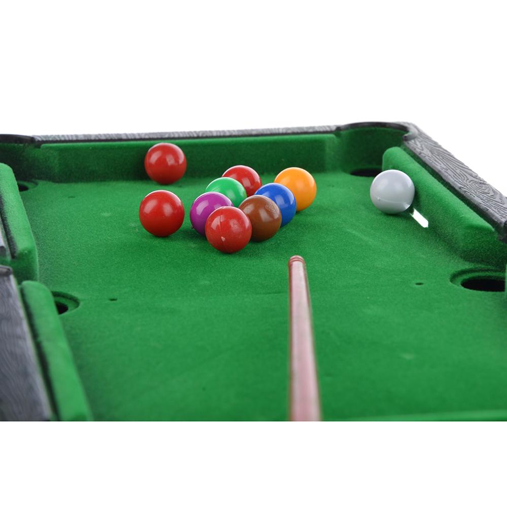 ИГРОЛЕНД Игра настольная бильярд, пластик, 18х27,5х2см, 63606
