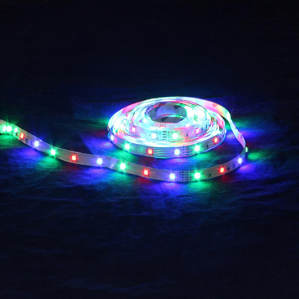 FORZA Подсветка рабочей зоны, SMD 2835, цветная RGB, 5м, IP20, с электр. стабилиз.