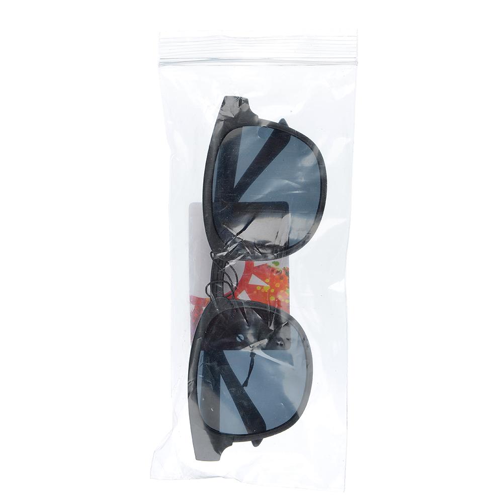 Очки солнцезащитные молодежные, пластик, 14,5х5см, 2 вида, ОС19-1
