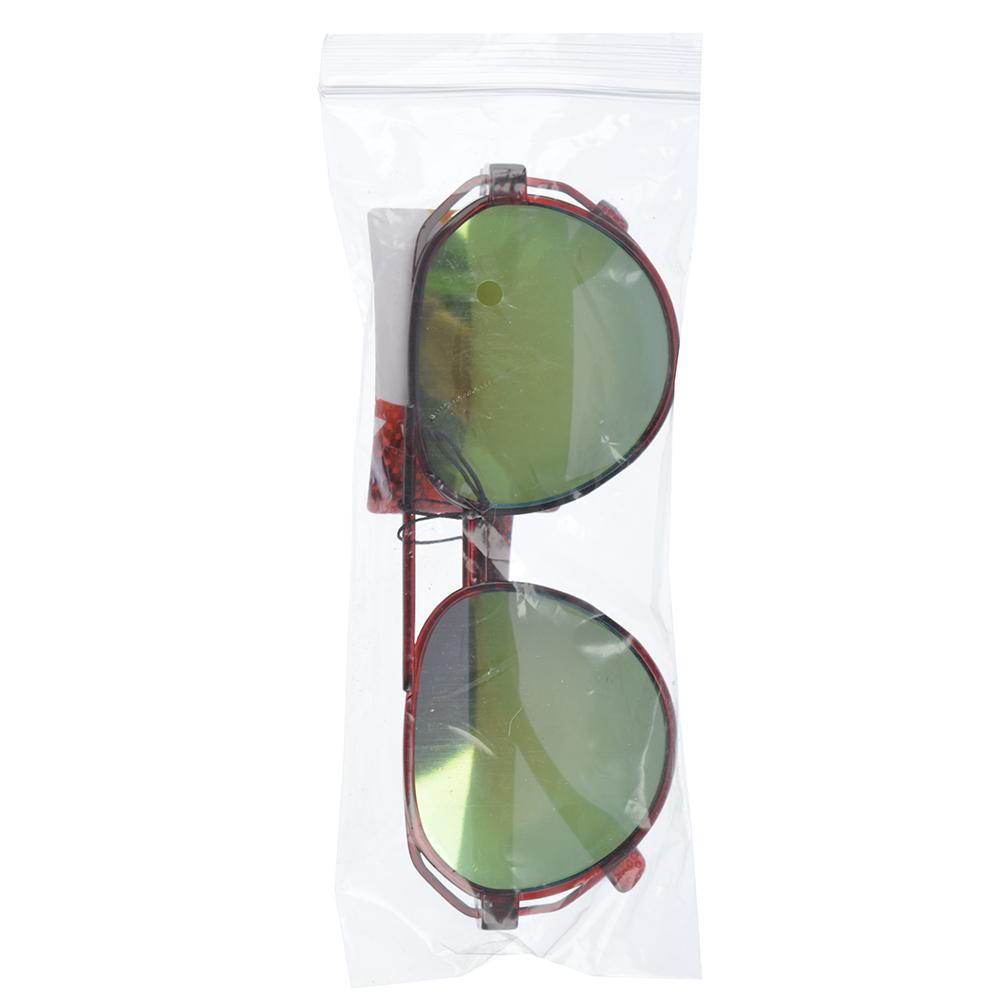 Очки солнцезащитные молодежные, пластик, 14,5х5,2см, 3 цвета,ОС19-5