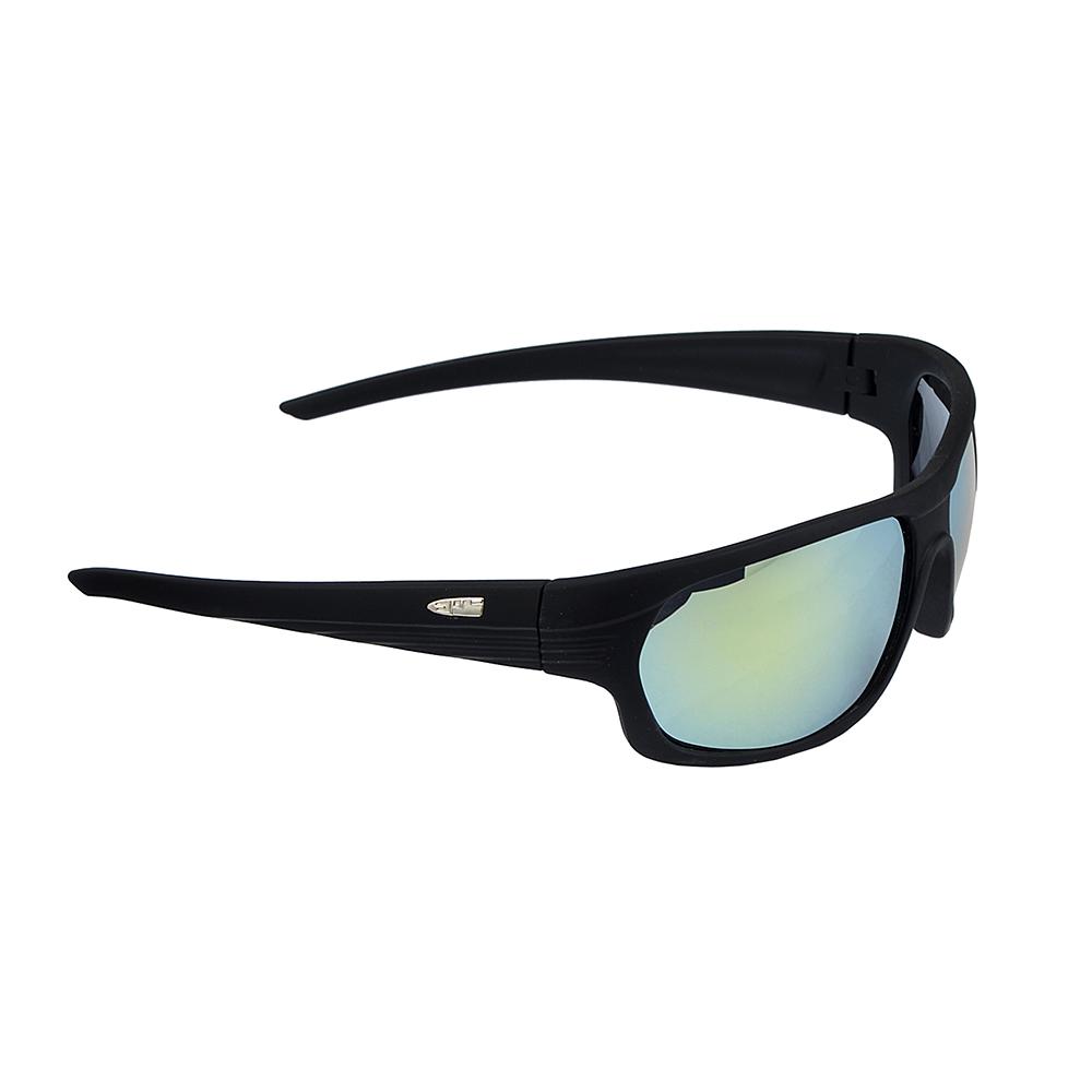Очки солнцезащитные мужские, пластик, 18х4,5см, 3 цвета, ОС19-26