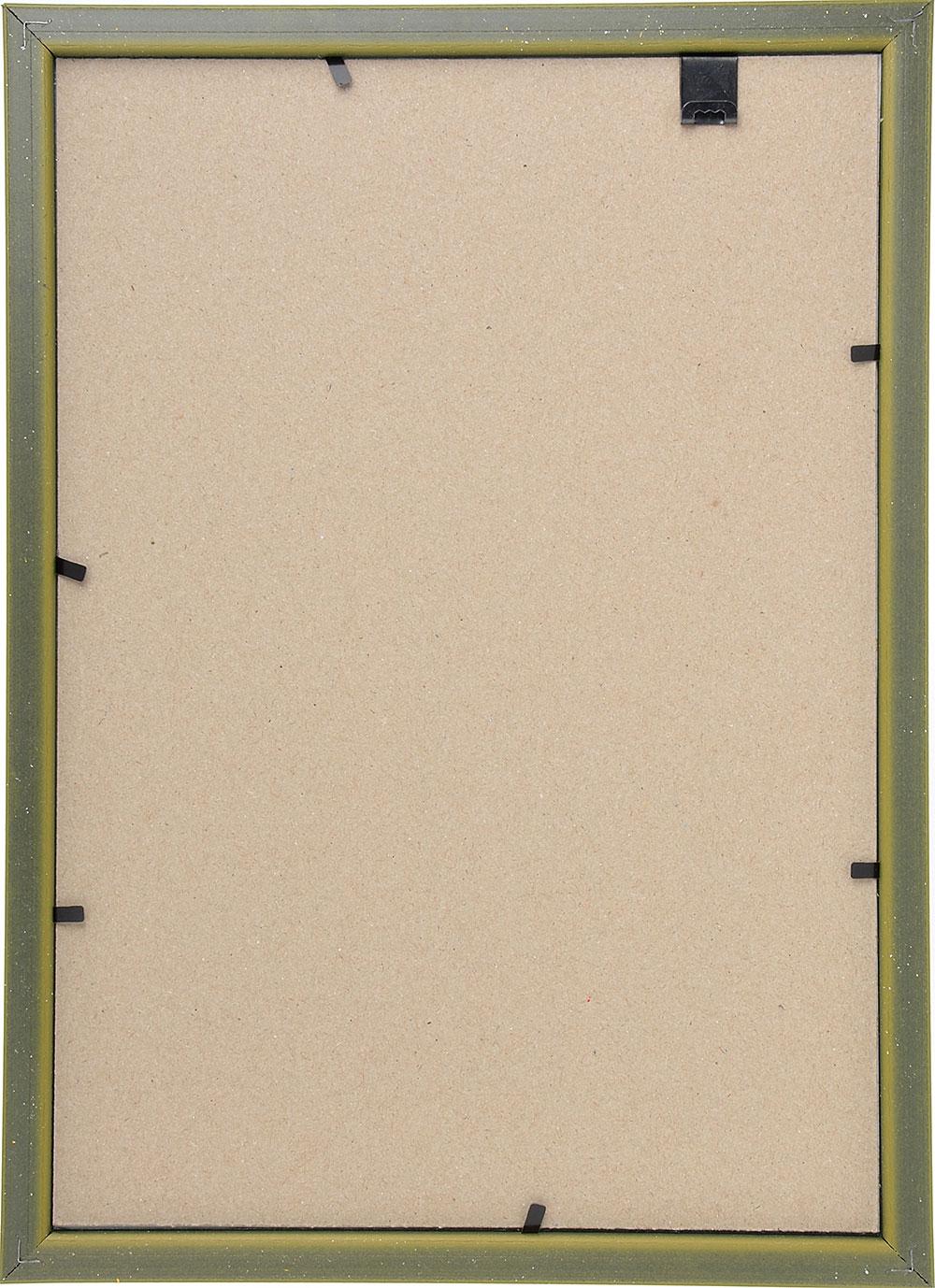 Фоторамка 21х30, пластик, стекло, 5 цветов (бронза, орех, бук, серебро, золото)