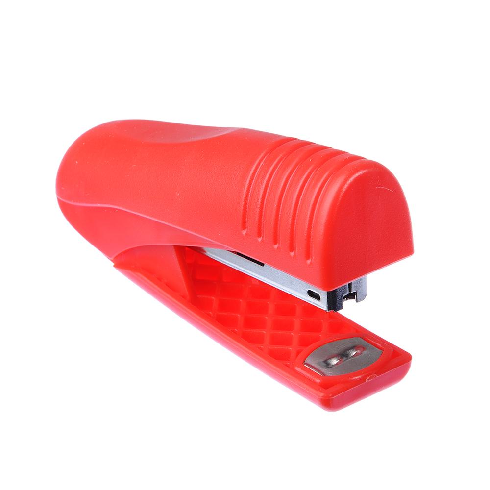 Степлер для скоб №10, 9,5x2,6см, 2 цвета, в картонной коробке