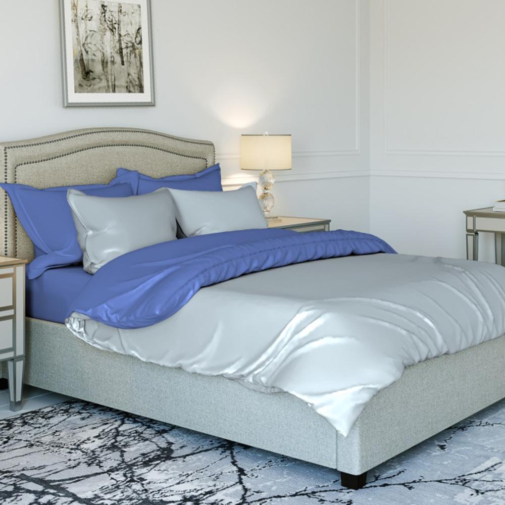 Комплект постельного белья евро PROVANCE поплин гладкокрашеный 110гр/м, 100% хлопок