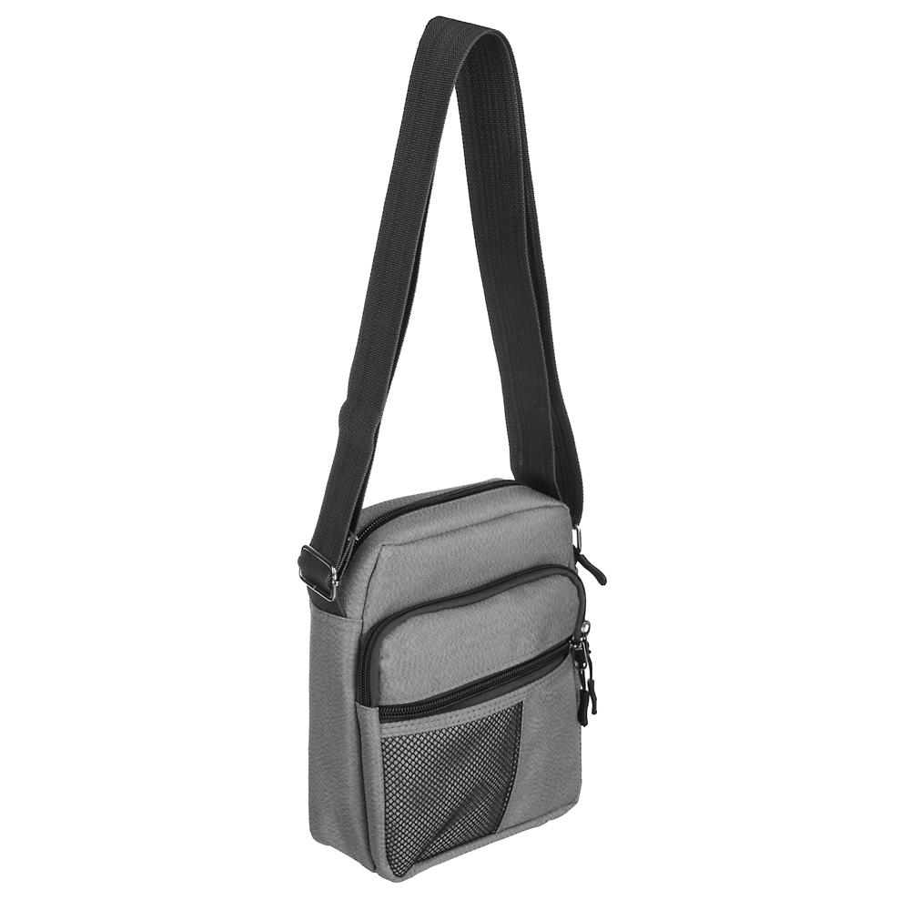 PAVO Сумка молодежная через плечо, полиэстер, пластик, 21х16х9см, 2 цвета, 2 дизайна