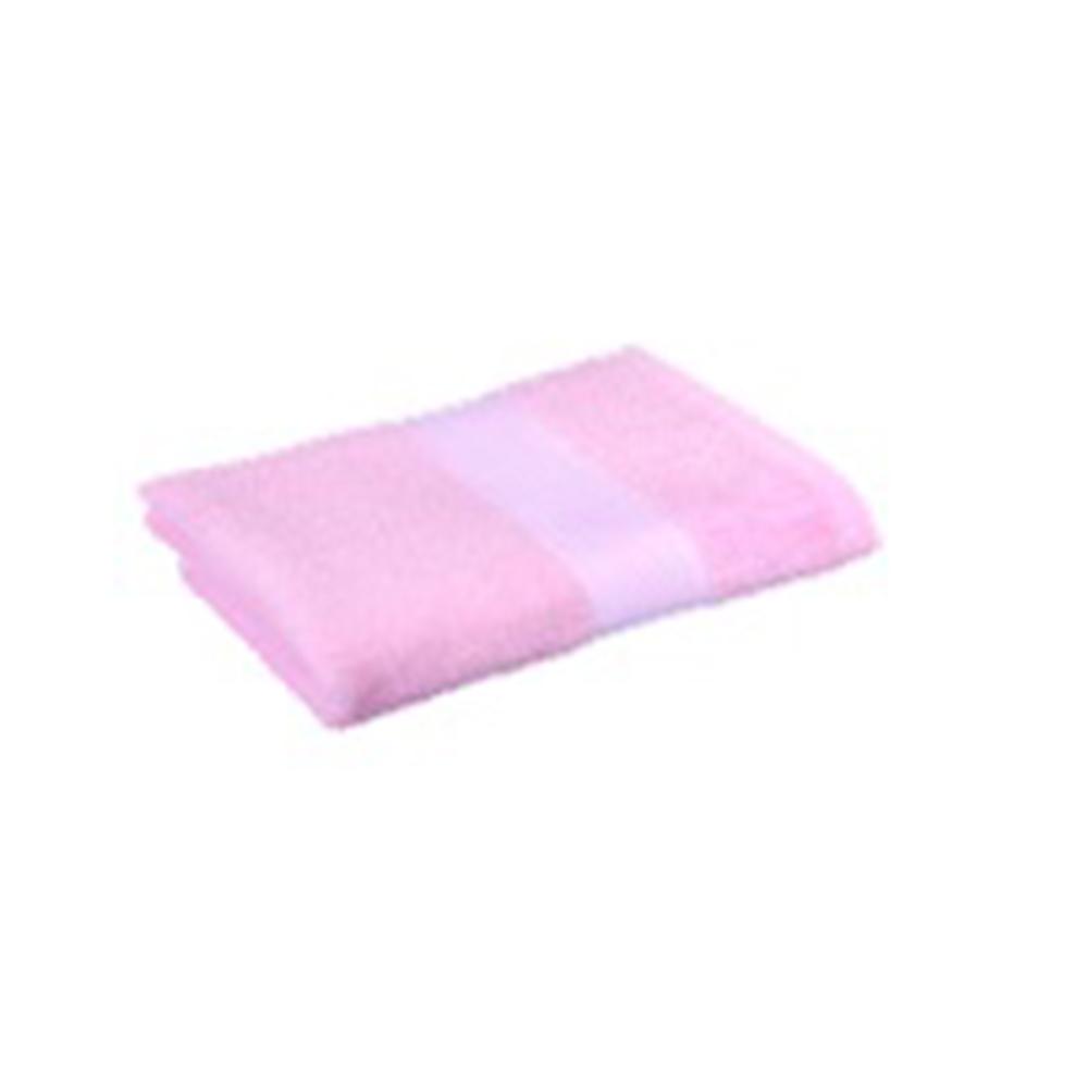 Полотенце махровое 360гр. 70х130см ОЕ 16/1 розовый ПГ-11073