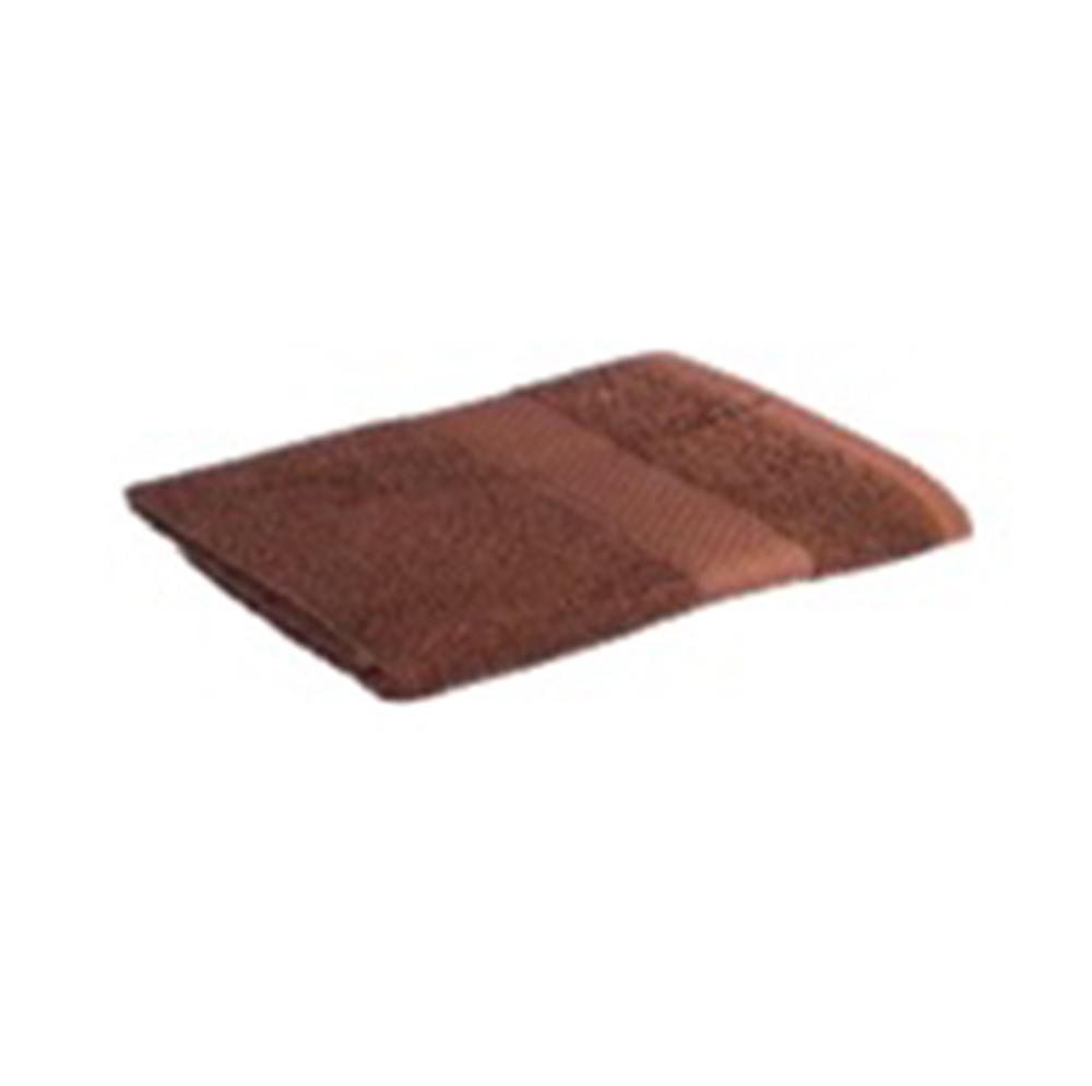 Полотенце махровое 360гр. 50x90см ОЕ 16/1 шоколад ПГ-11074