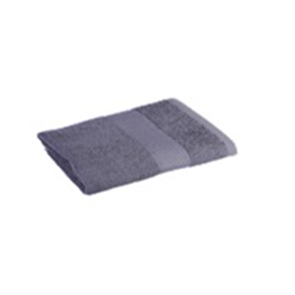 Полотенце махровое 360гр. 70х130см ОЕ 16/1 серый ПГ-11077