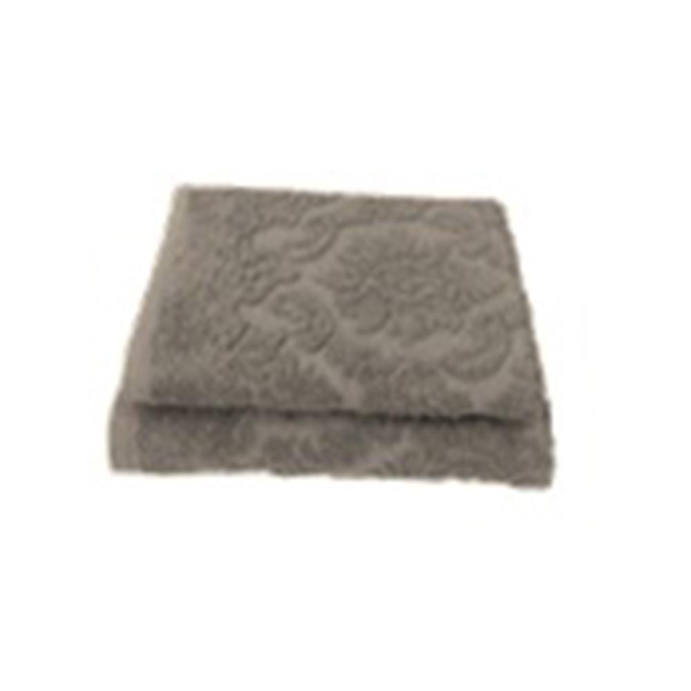 Полотенце махровое жаккард 420гр. 50x90см, Ринг 16/1 беж ПГ-11080