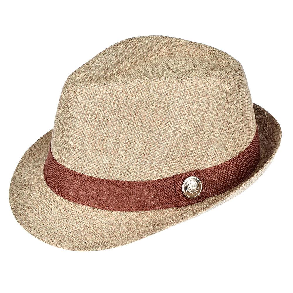 Шляпа молодежная, 35% хлопок, 65% полиэстер, р-р 56-58, 4 цвета, ШЛ19-23