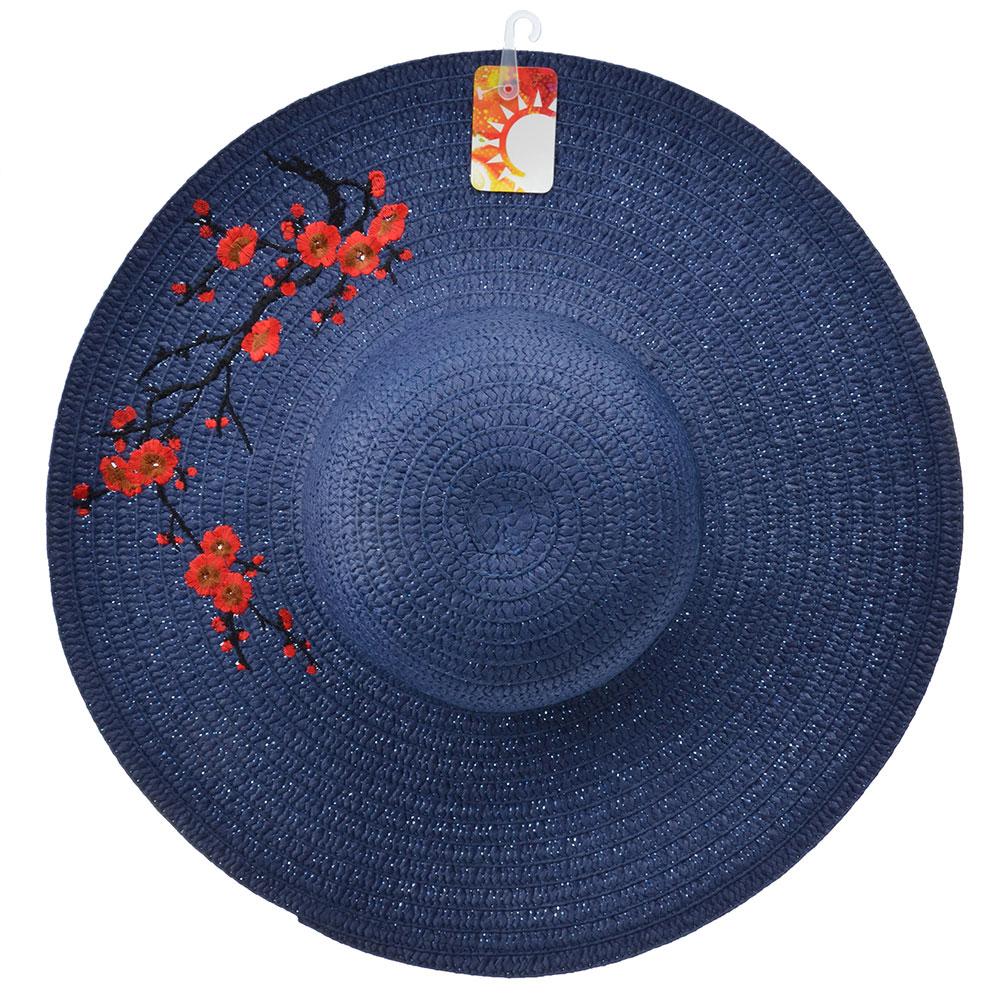 Шляпа женская, 100% целлюлоза, р-р 58, 3 цвета, ШЛ19-40