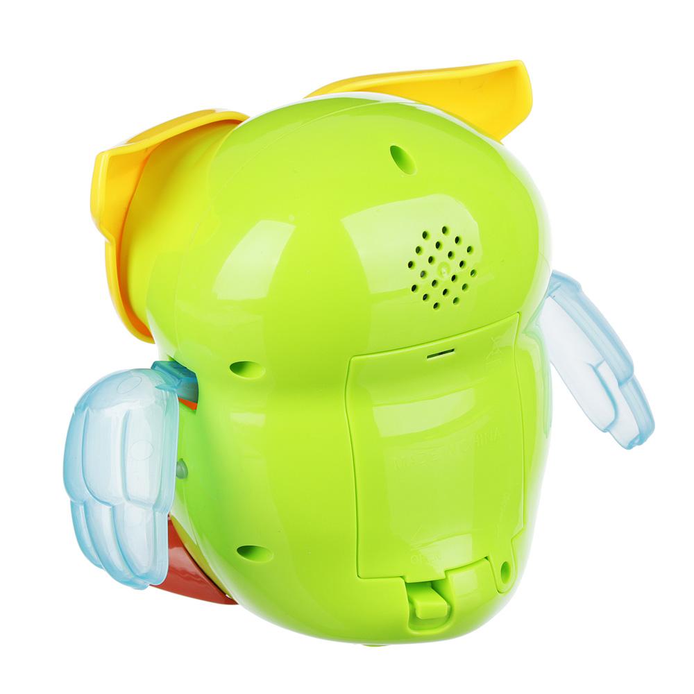 ИГРОЛЕНД Игрушка интерактивная со световыми и звуковыми эффектами, русский, пластик, 17,5х10,5х20см