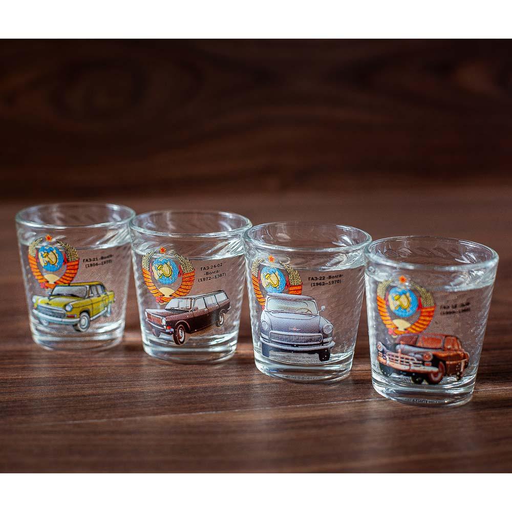 Набор для водки 7 предметов, стекло, арт.1210-Д