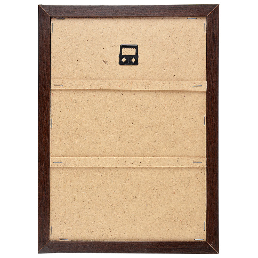 Ключница открытого типа, 5 крючков, МДФ, 33х26х1,5см, 3 дизайна, рамка венге
