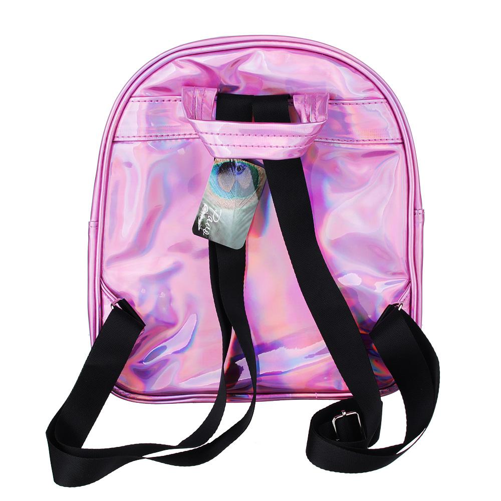 PAVO Рюкзак женский, ПУ, ПВХ, 26х23х10см, 3 цвета