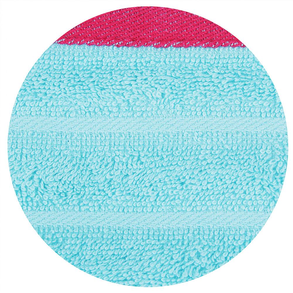 Полотенце махровое в подарочной упаковке, 100% хлопок, 50х90см, 380гр/м, 4 цвета ПГ-11104