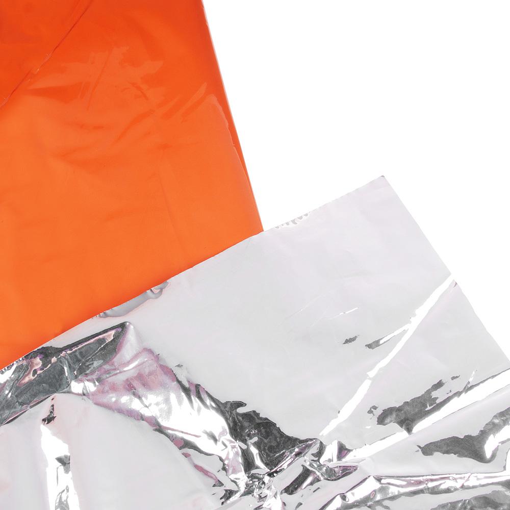 Плед туристический защитный ЧИНГИСХАН (алюминий+полиэстер), 1,3х2,1м