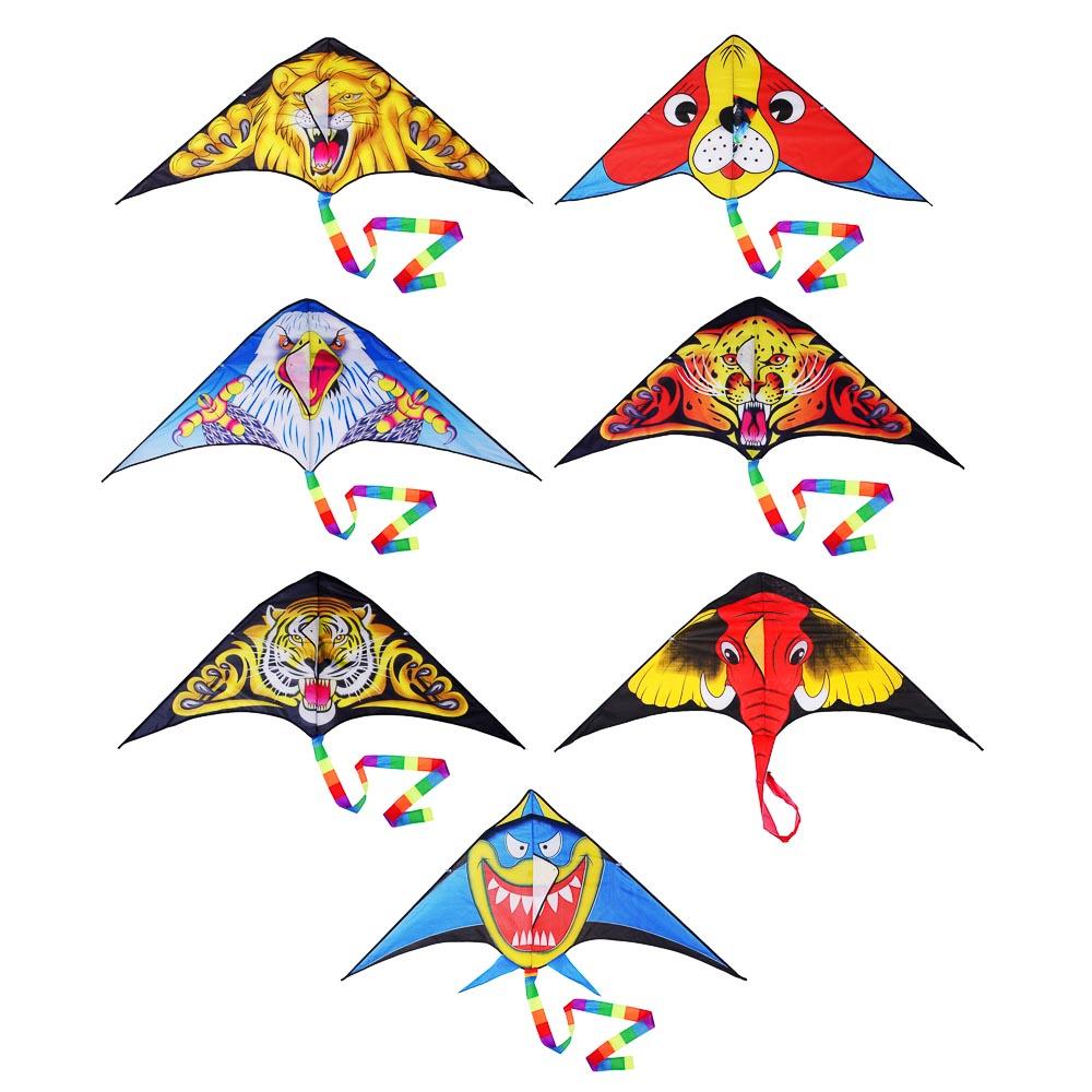 Воздушный змей 160 см, текстиль, 7-10 дизайнов